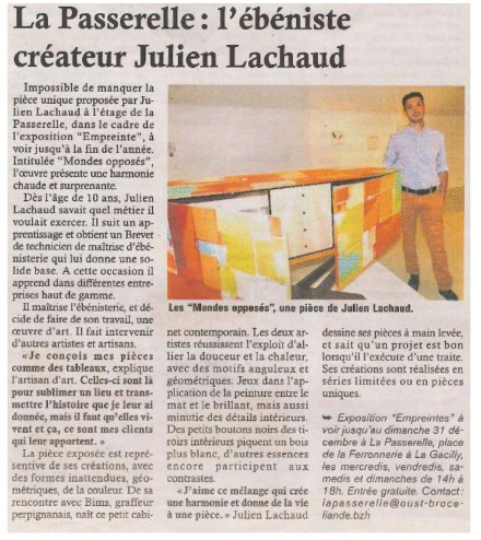 Article-presse-exposition-Empreintes-Gacilly-Passerelle