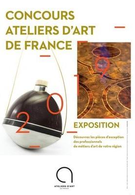 Affiche concours ateliers d'art de France