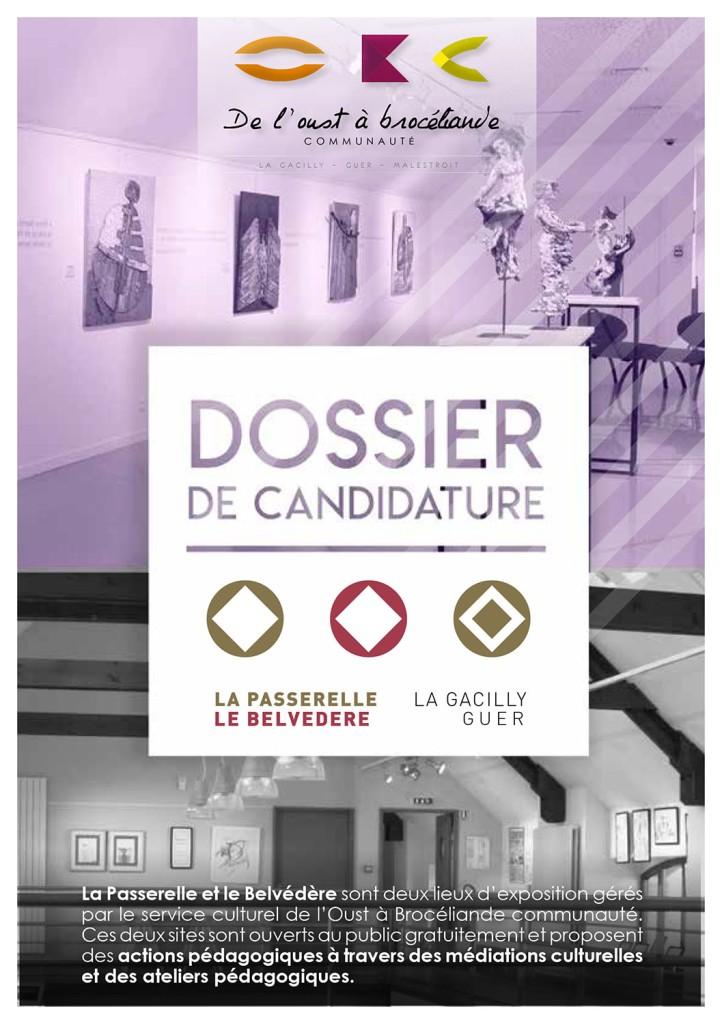 Dossier de candidature pour le lieu d'exposition de La Gacilly, la Passerell.